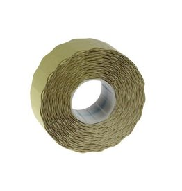 Merkloos etik. voor prijstang Samark, 26x12mm, niet-permanent, 12rol.