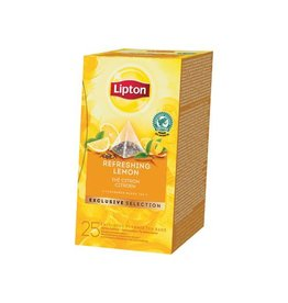 Lipton Lipton thee, Citroen, Exclusive Selection doos van 25 zakjes