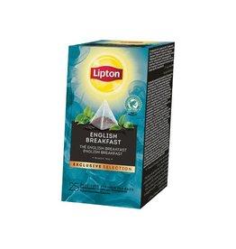 Lipton Lipton thee, English Breakfast, Exclusive Selection, 25zak.