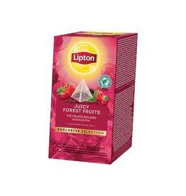 Lipton Lipton thee,Bosvruchten,Exclusive Selection,doos 25 zakjes