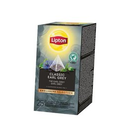 Lipton Lipton thee,Earl Grey,Exclusive Selection,doos van 25 zakjes