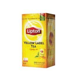 Lipton Lipton thee, Yellow Label, Squeezable, doos van 25 zakjes