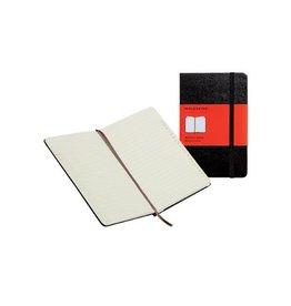Moleskine Moleskine adresboek 13x21 gelijnd, harde cover, 192bl, zw