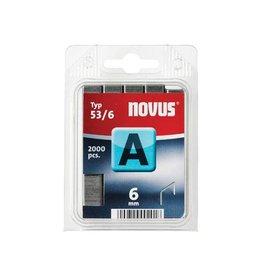 Novus Novus nietjes A 53/6, doos met 2000 nietjes [6st]