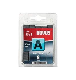 Novus Novus nietjes A 53/8 Super Hard, doos met 2000 nietjes