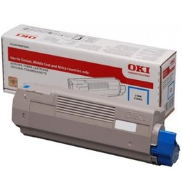OKI Toner OKI C612 Cyan 6K