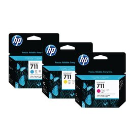 HP MultiPack HP No.711 C/M/Y 3x29ml