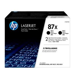 HP HP 87X (CF287XD) duopack black 2x18000 pages (original)