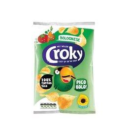 Croky Croky chips bolognese, zakje van 100 g [12st]