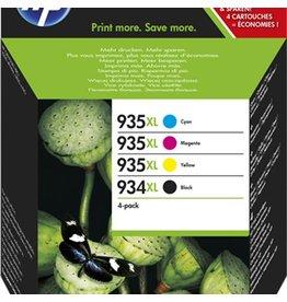 HP Valuepack HP No.934XL C/M/Y/BK 1K, 3x825p.