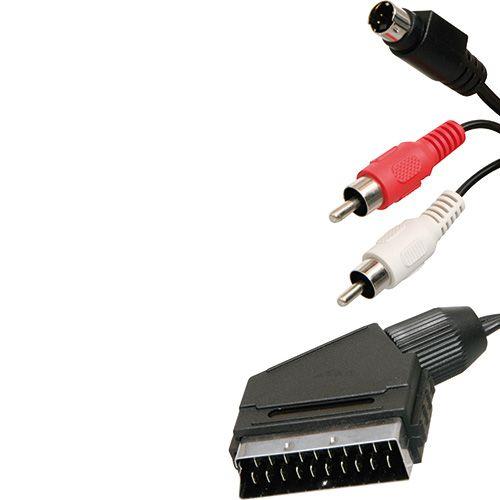 SCART S-video kabel 2M