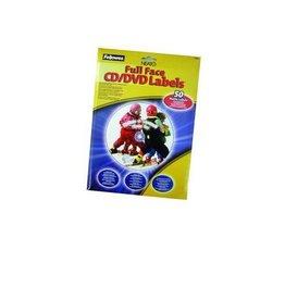 Fellowes Full Coverage Label CD/DVD