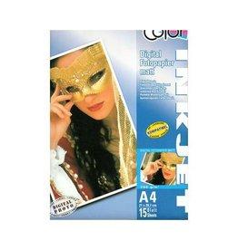 Color Fotopapier Mat, 200gr, A4, 15 sheets