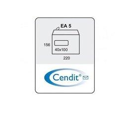 Cendit Dienstenvelop EA5 venster(500)