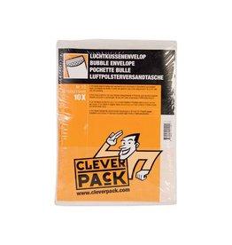 Cleverpack Cleverpack luchtkussenenveloppen, ft 150 x 215 mm, wit, 10st