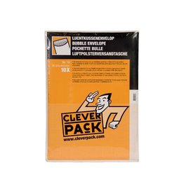 Cleverpack Cleverpack luchtkussenenveloppen, 300x445 mm, wit, 10st