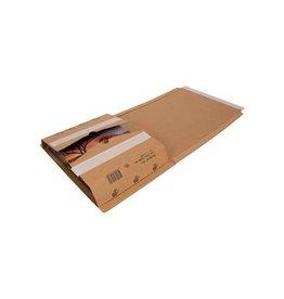 Cleverpack Cleverpack wikkelverpakking uit gkarton 270x330x20 80 10st