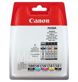 Canon Multipack Canon PGI580/CLI581 PBK+CMYK 5x11,2ml