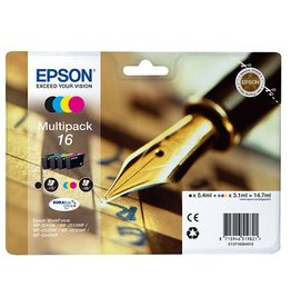 Epson Multipack Epson T16 bk/c/m/y 14,7ml