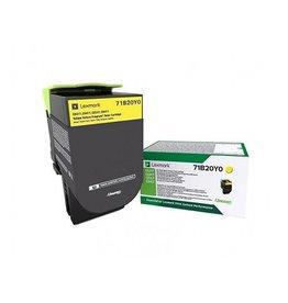 Lexmark Toner Lexmark CX317 Yellow 2,3K Return