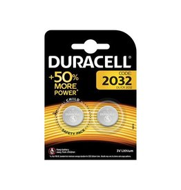 Duracell Duracell knoopcel Electronics DL/CR 2032, 3 volt, 2st
