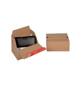 Colompac Colompac Eurobox Size S, 195x145x90mm, bruin [20st]