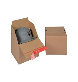 Colompac Colompac Eurobox Size S, 195x194x87mm, bruin [10st]