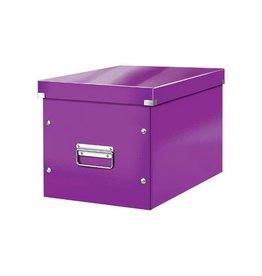 Leitz Leitz Click & Store kubus grote opbergdoos, paars