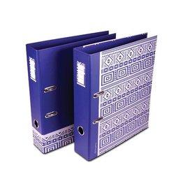 Pergamy Pergamy Ethnic ordner ft A4, blauw [10st]