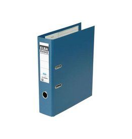 Elba Elba Rado Plast ordner, blauw, rug van 8 cm