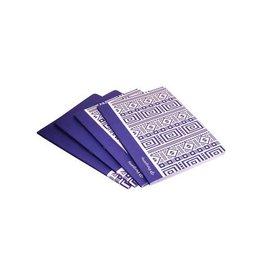 Pergamy Pergamy Ethnic schrift, A4, 5mm, 48 bladzijden, blauw [10st]