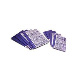Pergamy Pergamy Ethnic schrift, ft A4, gelijnd, 48 bl, blauw [10st]