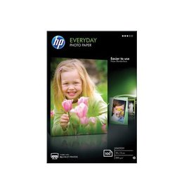 HP HP Everyday fotopapier10 x 15 cm, 200 g, 100 vel, glanzend
