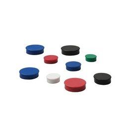 Nobo Nobo Magneten, diameter 38 mm, zwart, 4 stuks [10st]