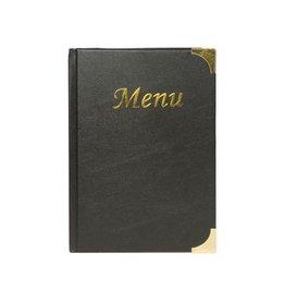 Securit Securit menukaart Basic, ft A5, zwart [10st]