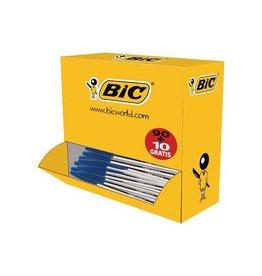 Bic Bic balpen Cristal Medium voordeelpak 90 + 10 gratis, blauw