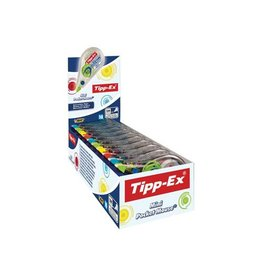 Tipp-ex Tipp-ex correctieroller mini pocket mouse fashion doos 10st