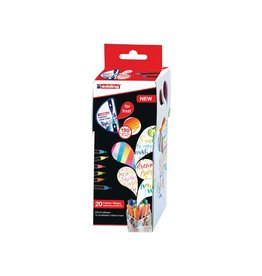 Edding edding Colour Happy box, assortiment met 20st in div. kl.