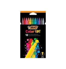 Bic Bic viltstiften Color Up kartonnen etui met 12st in div. kl.