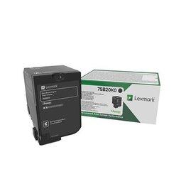 Lexmark Toner Lexmark CX727 Black 13K Return