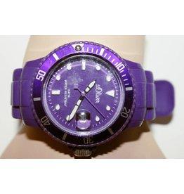 S´Oliver S´Oliver Uhr violett