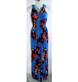 Red Queen Langes Kleid mit Print Gr. 38