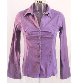 Zero Bluse Langarm violett Gr. 36