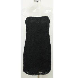 Vero Moda Bustierkleid mit Rosen schwarz Gr. 40