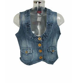 Outfit Fashion Jeans-Gilet Gr. 38