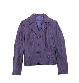 S´Oliver Leinenblazer violett Gr. 34