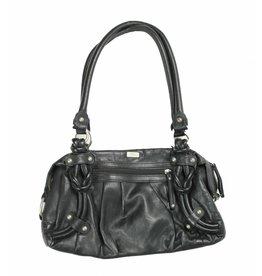 S´Oliver Tasche schwarz 32 x 20 cm