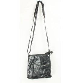 Kleine Tasche schwarz 20 x 20 cm