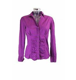 Flame Bluse violett Gr. 40/42
