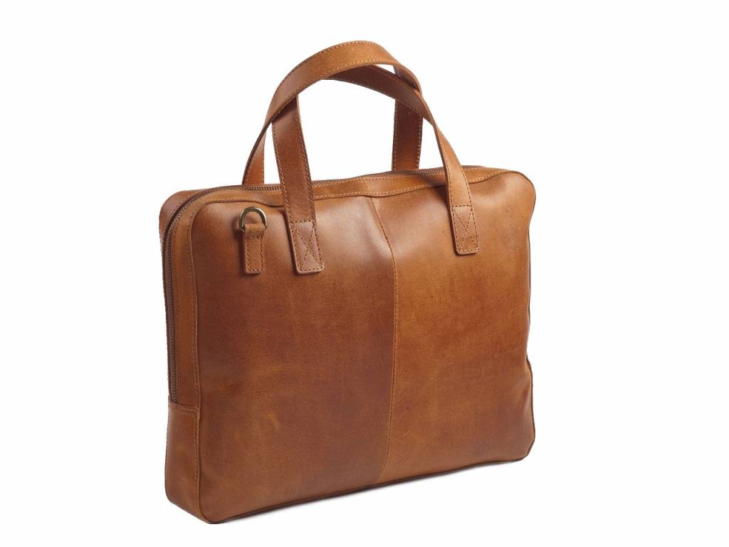 Macbook Tas Dames : Leren mini laptoptas van burkely vintage de tassensite